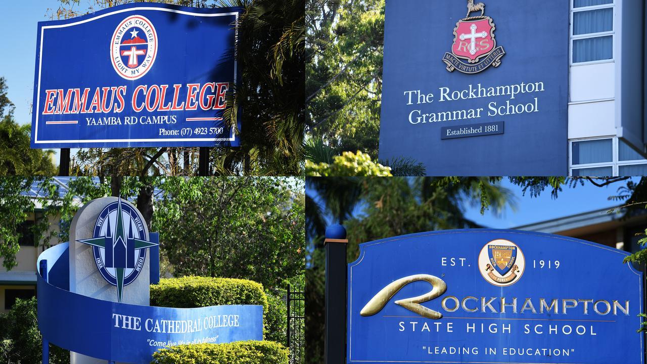 Rockhampton schools.