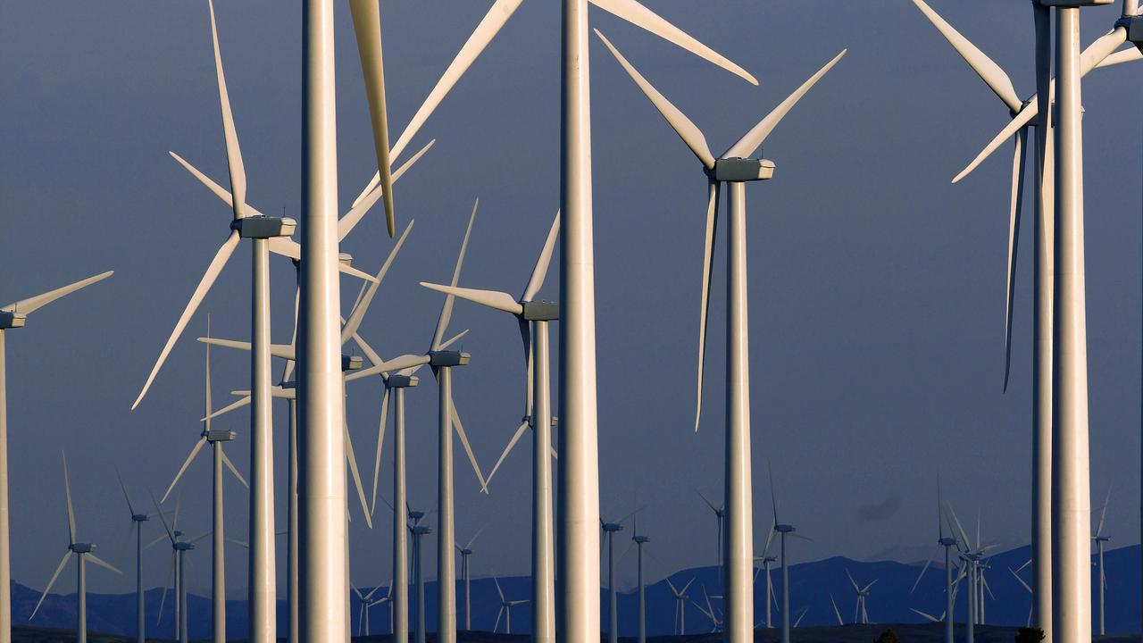 GREEN LIGHT: A wind farm has been approved south west of Gladstone. (AP Photo/Matt Young,File)