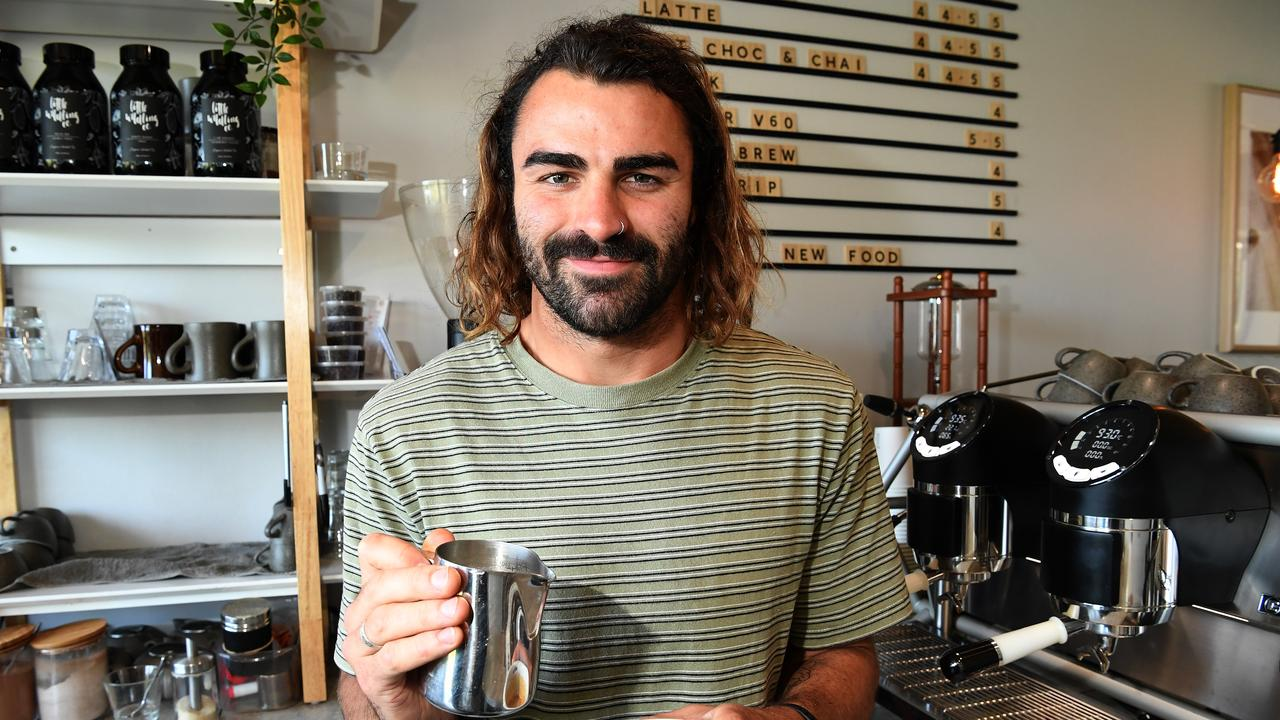 Matt Allman, owner of Buderim's John Kyle Espresso, was voted the Coast's best barista by Daily readers.