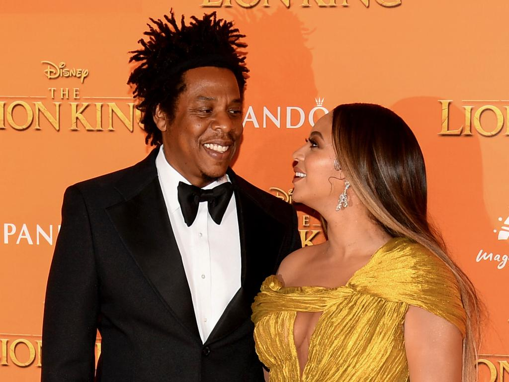 Jay Z and Beyonce at a premiere of Disney's 'The Lion King' in London in July. Despite their 12-year age gap and reports (and musical insinuations) of infidelities on his part, they remain strong. Picture: Gareth Cattermole/Getty Images for Disney