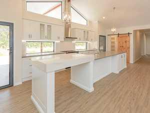 Award winning kitchen in a winning home