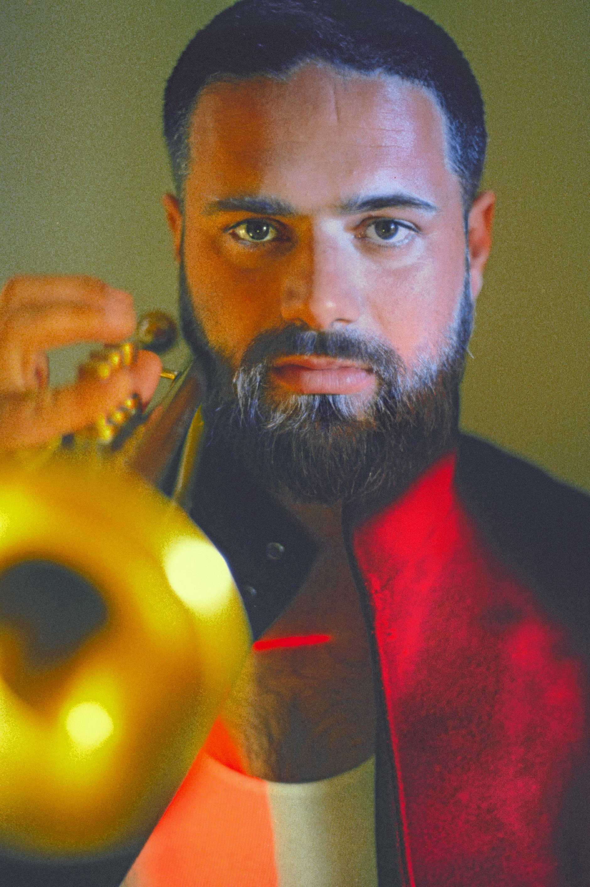 BYRON RESIDENT: Harry James Angus will perform at this year's Mullum Music Festival.
