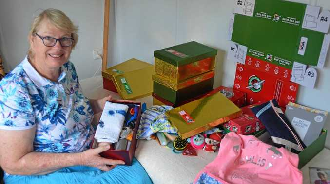Gayndah gifts bring joy to children in poverty