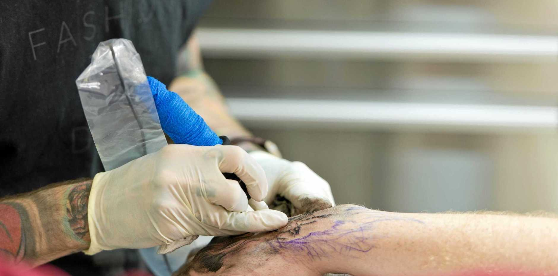 DODGY: The South Burnett Times team is on the search for the dodgiest tattoos in the region.