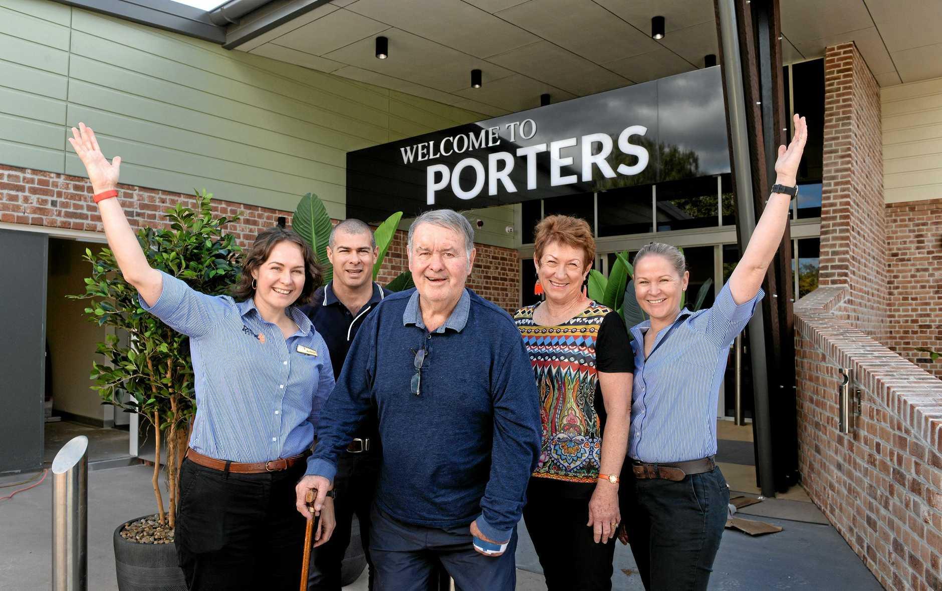 FAMILY MATTERS: Mel, Michael, Bob, Julie, and Shelley Porter of Porters Plainland Hotel.