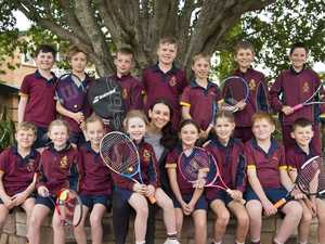 Students served up visit from Aussie star Casey Dellacqua