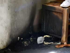 Inside house where gang lit fire, bashed girls with hammer