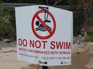 Stay away: Popular beach contaminated after sewage overflow