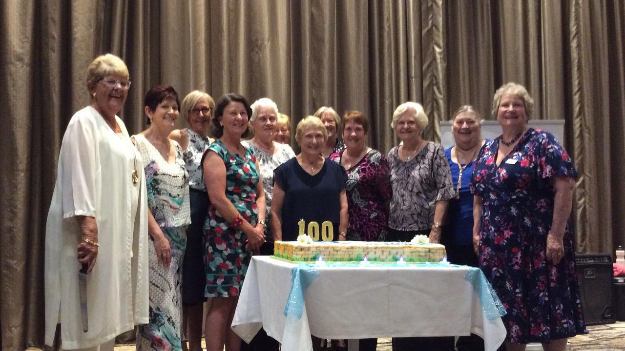 The Quota Club of Gladstone hosted a Fun Fashion Parade last Saturday at Gladstone Events Centre to raise money for the Pencils Plus Project. Quota is celebrating 100 years this year with 52 years in Gladstone. Quota Gladstone members (from left) president Christine Saunders, vice president Valerie Radloff, Karen Johnston, Naomi Hughes, Lyn McVean, Robin Hunt, Vicki Mayfield, Phyllis Lawson, Eliz