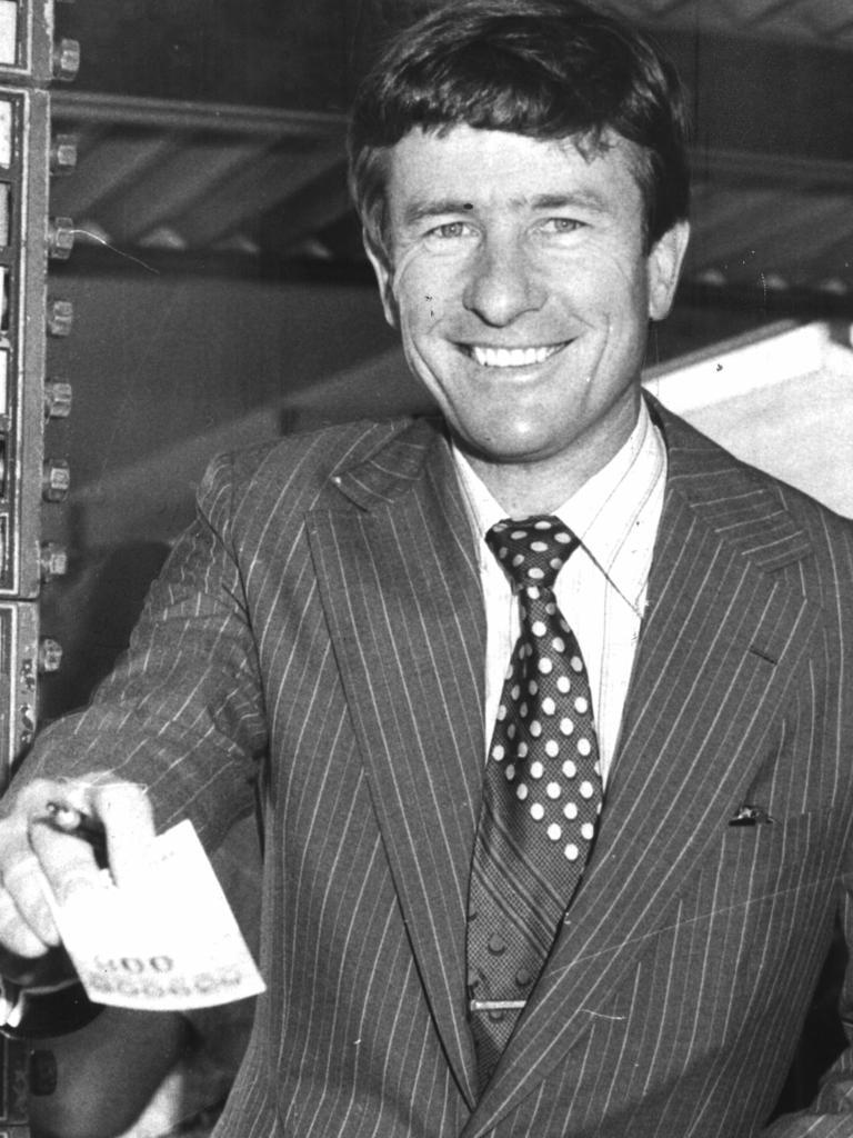 Bruce McHugh was a big Sydney bookie.