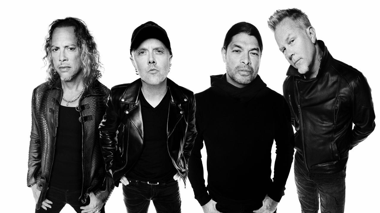 US hard rock metal band Metallica.