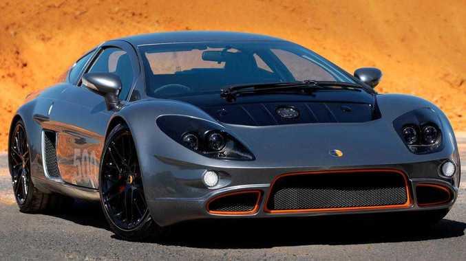 Australia's 300km/h supercar revealed
