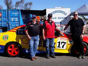 Iconic racing vehicle grabs V8 legend's attention