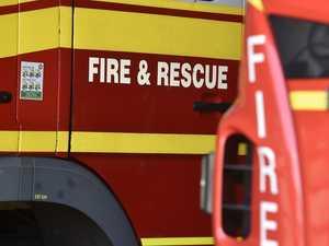 Fire crews extinguish motel fire