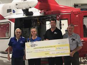 Generous donation for life saving rescue service