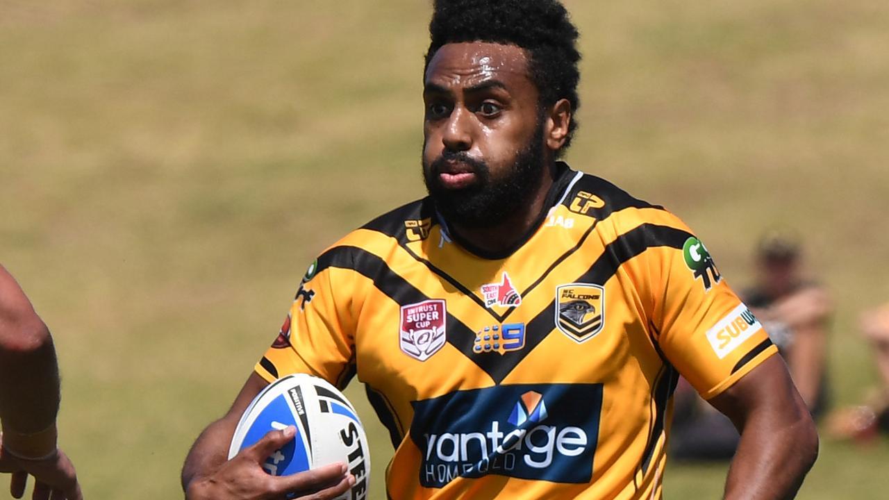 Sunshine Coast Falcons centre Siti Moceidreke has re-signed for 2020.