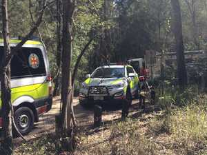 Nine crews search for person missing on mountain
