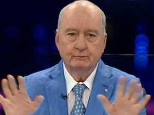 Drought brings Alan Jones to tears on TV