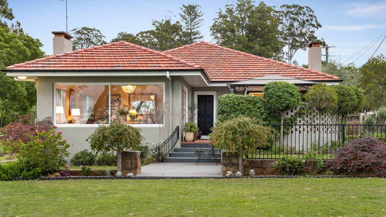 ABOVE RESERVE: This character home in Redwood overlooking the Toowoomba escarpment sold for more than $1.2 million at auction via Colliers International.