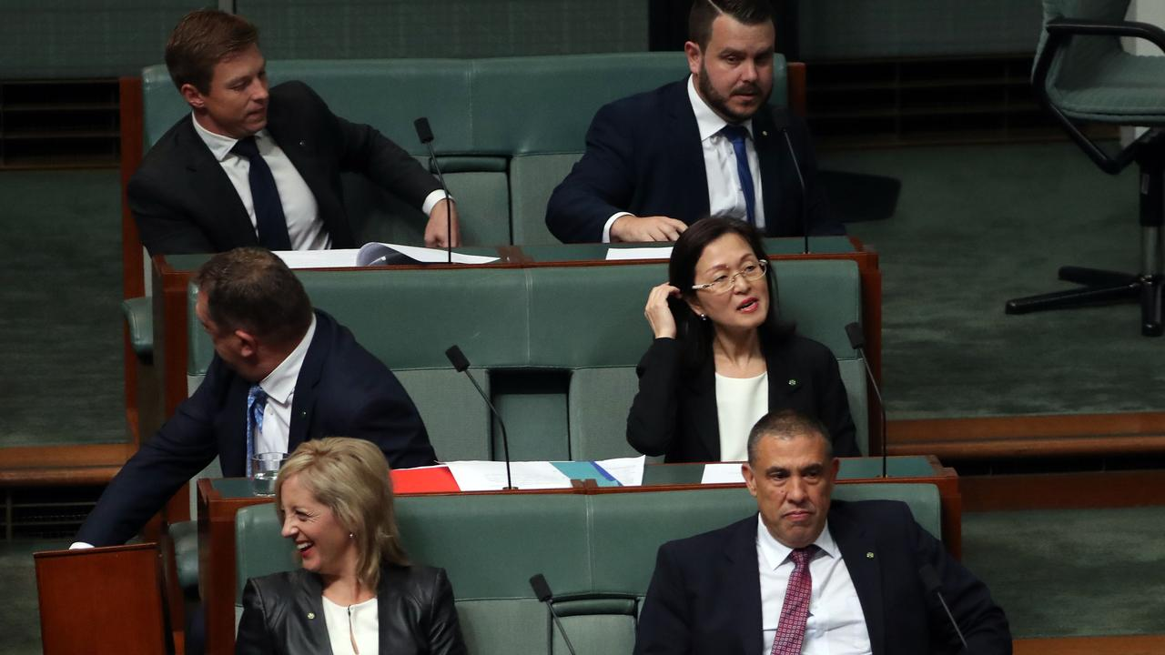 Gladys Liu during Question Time. Picture: Gary Ramage