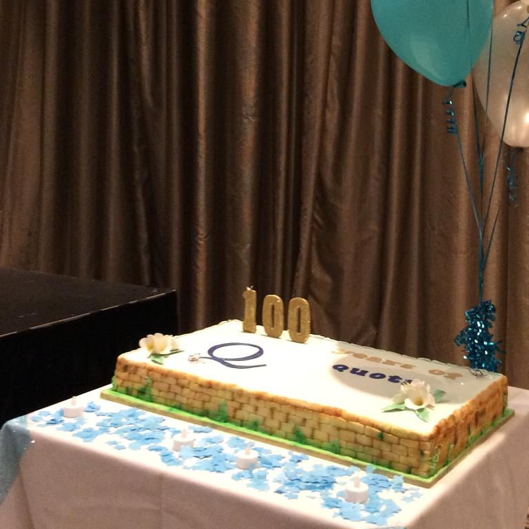 The Quota cake was decorated by Liz Cunningham.