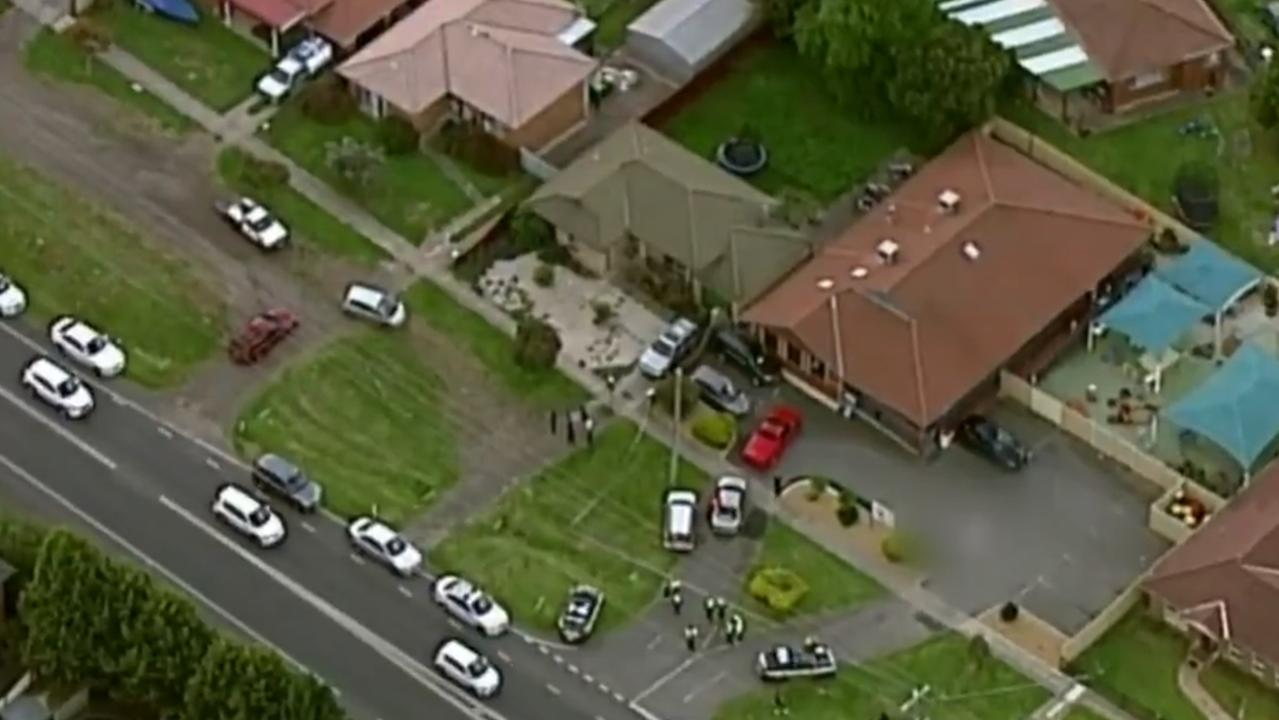 Emergency services rushed to the scene but the child could not be saved. Picture: 7 News