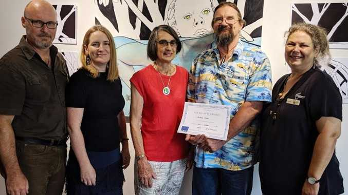 Local artistic talents given a boost