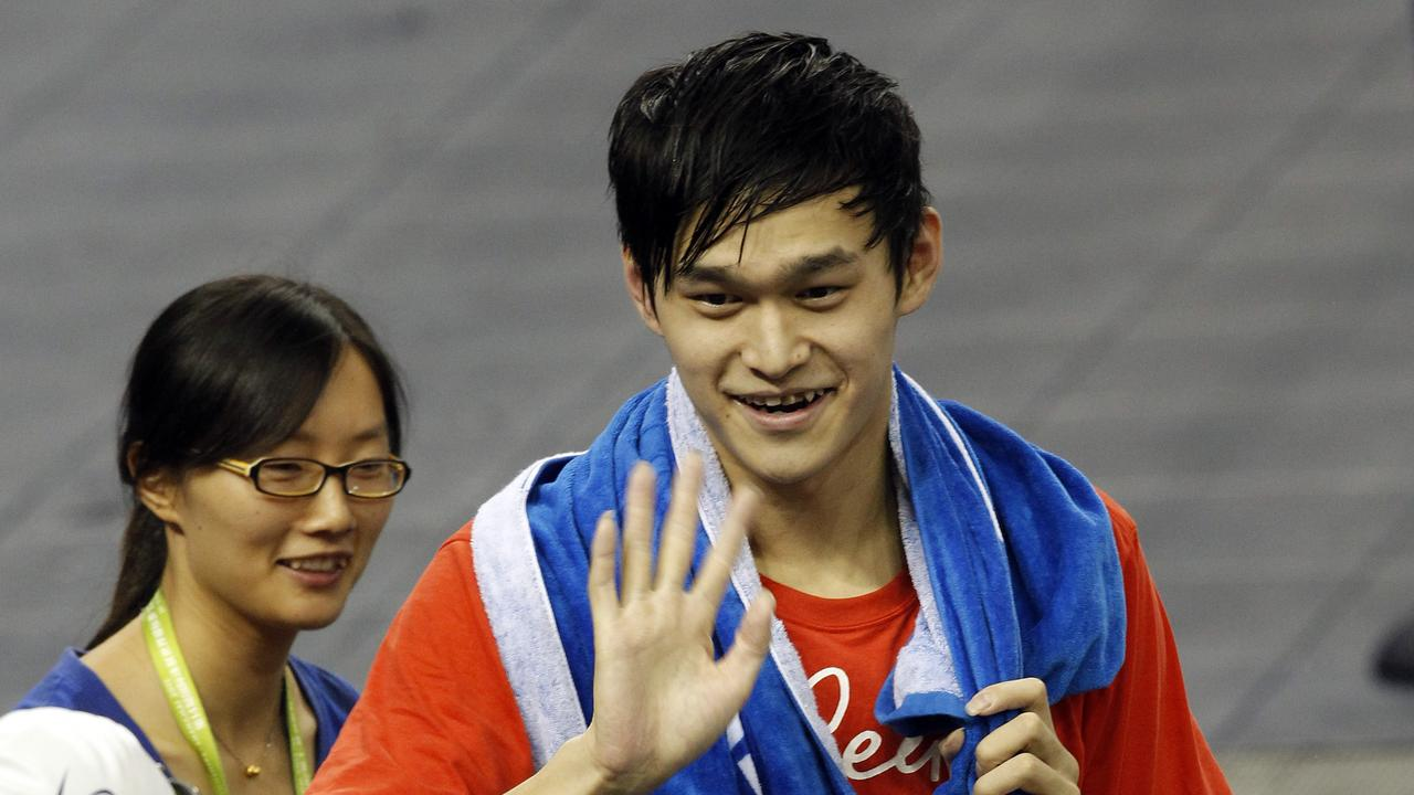 There's long been a cloud hanging over the achievements of Sun Yang.