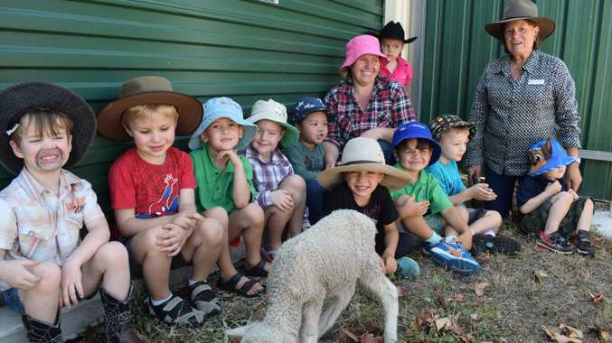 Kids support our farmers with dress up day