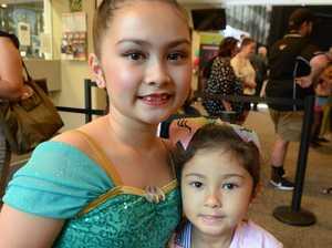 Sisters Sherriah Sterritt, 8, and Ryeisha Sterritt