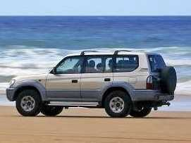 What to do after driving your car on the beach