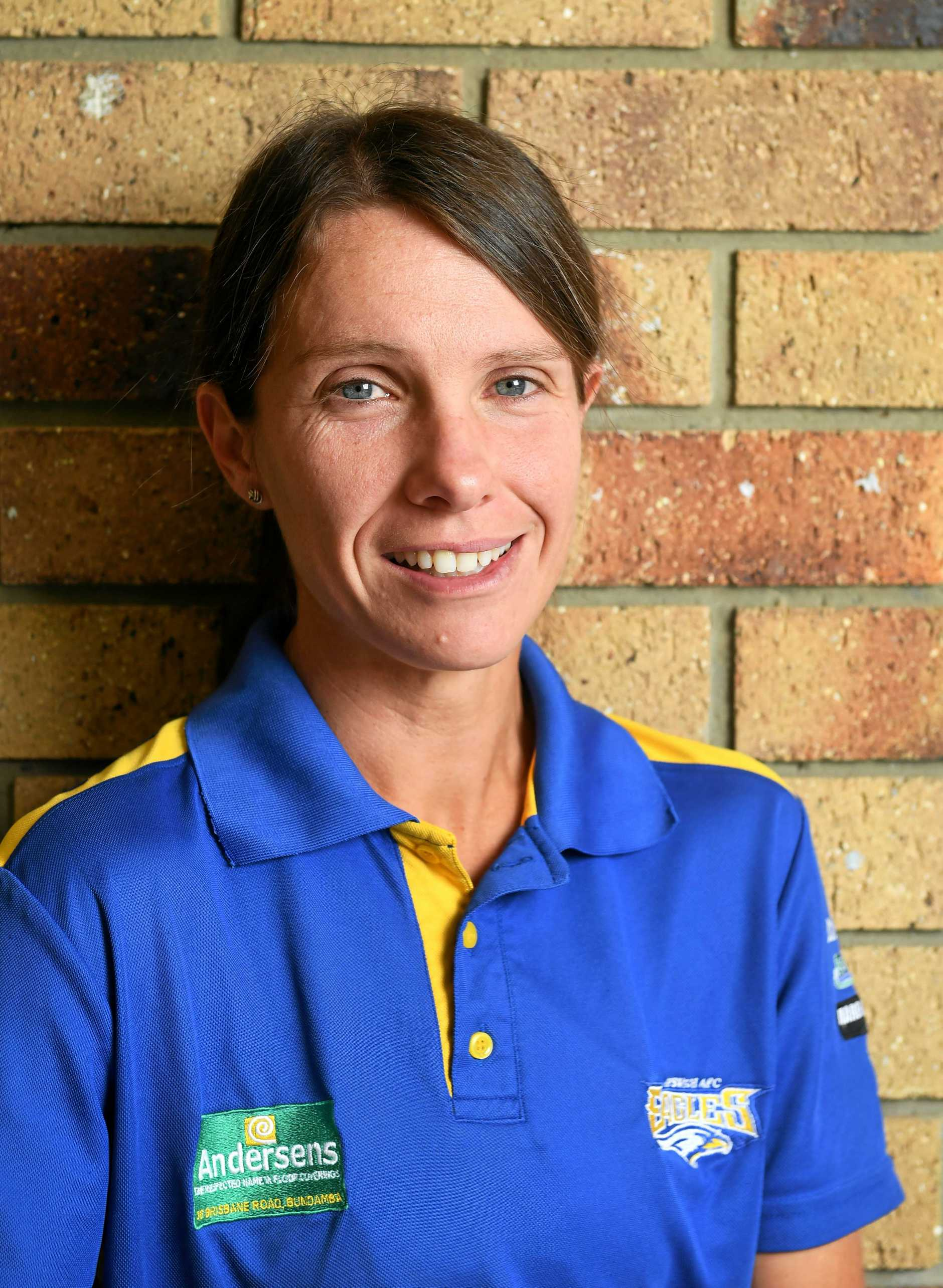 Ipswich Eagles volunteer Anne O'Donnell is a finalist in the City of Ipswich Sports awards.