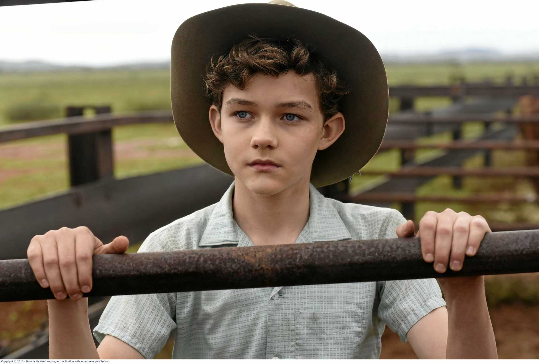 FOR REVIEW AND PREVIEW PURPOSES ONLY. Levi Miller in a scene from the movie Red Dog: True Blue. Supplied by Roadshow Films.
