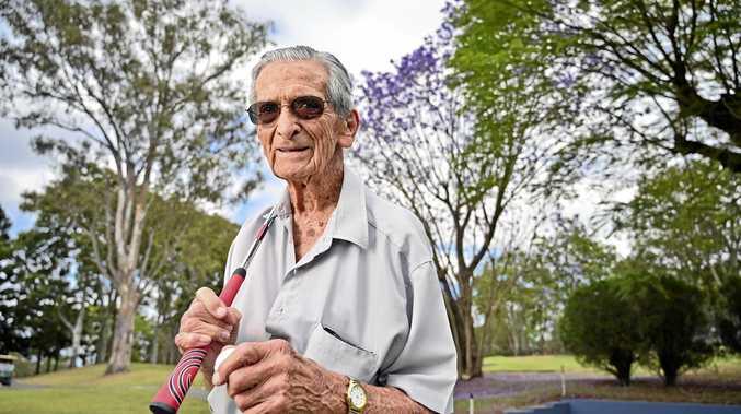 World War II digger still putting along at 100
