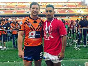 Prestigious medal for ex-Brumbies player