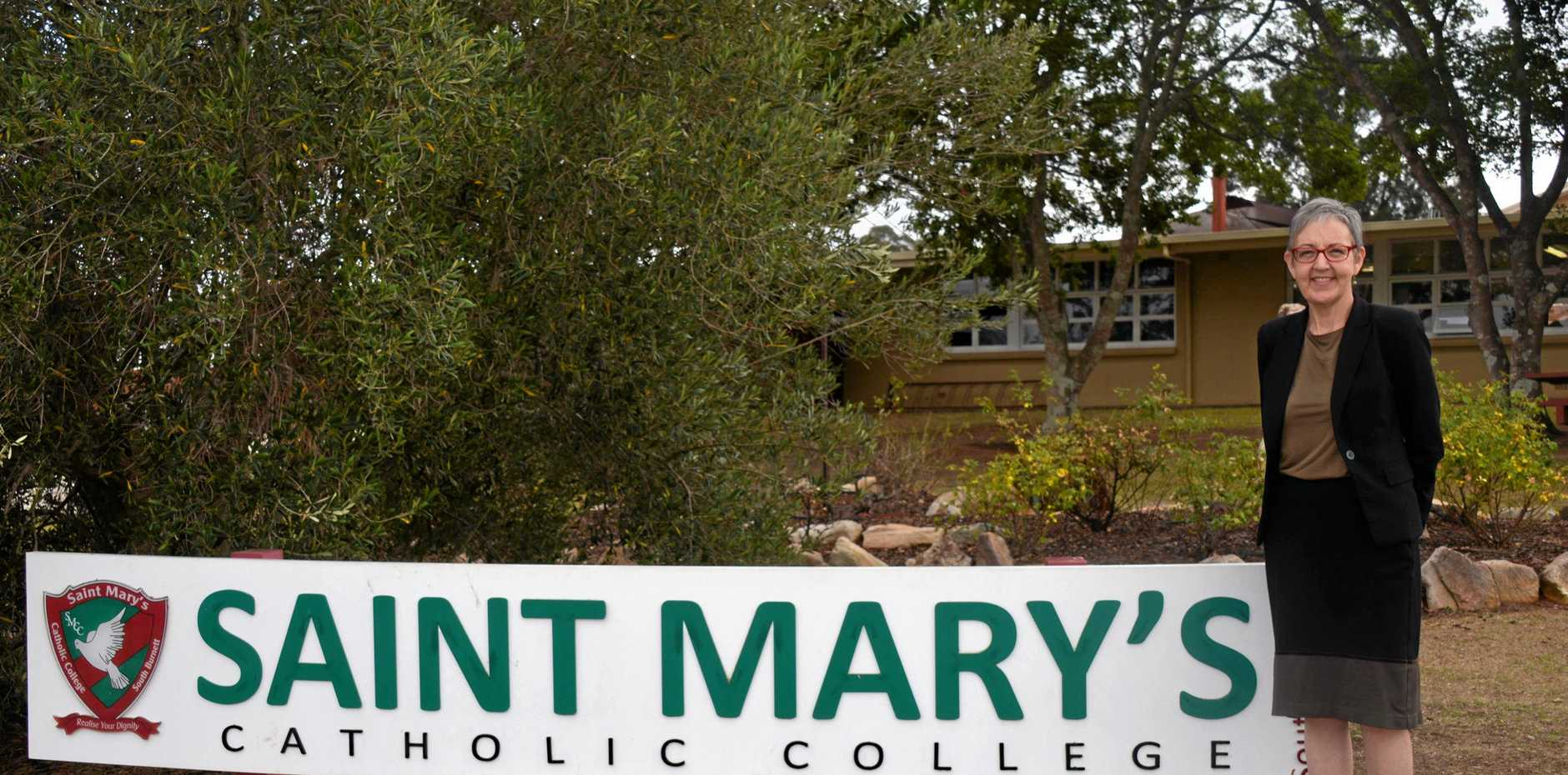 Saint Mary's Catholic College principal of four years, Angela Myles, will be moving on at the end of the year.