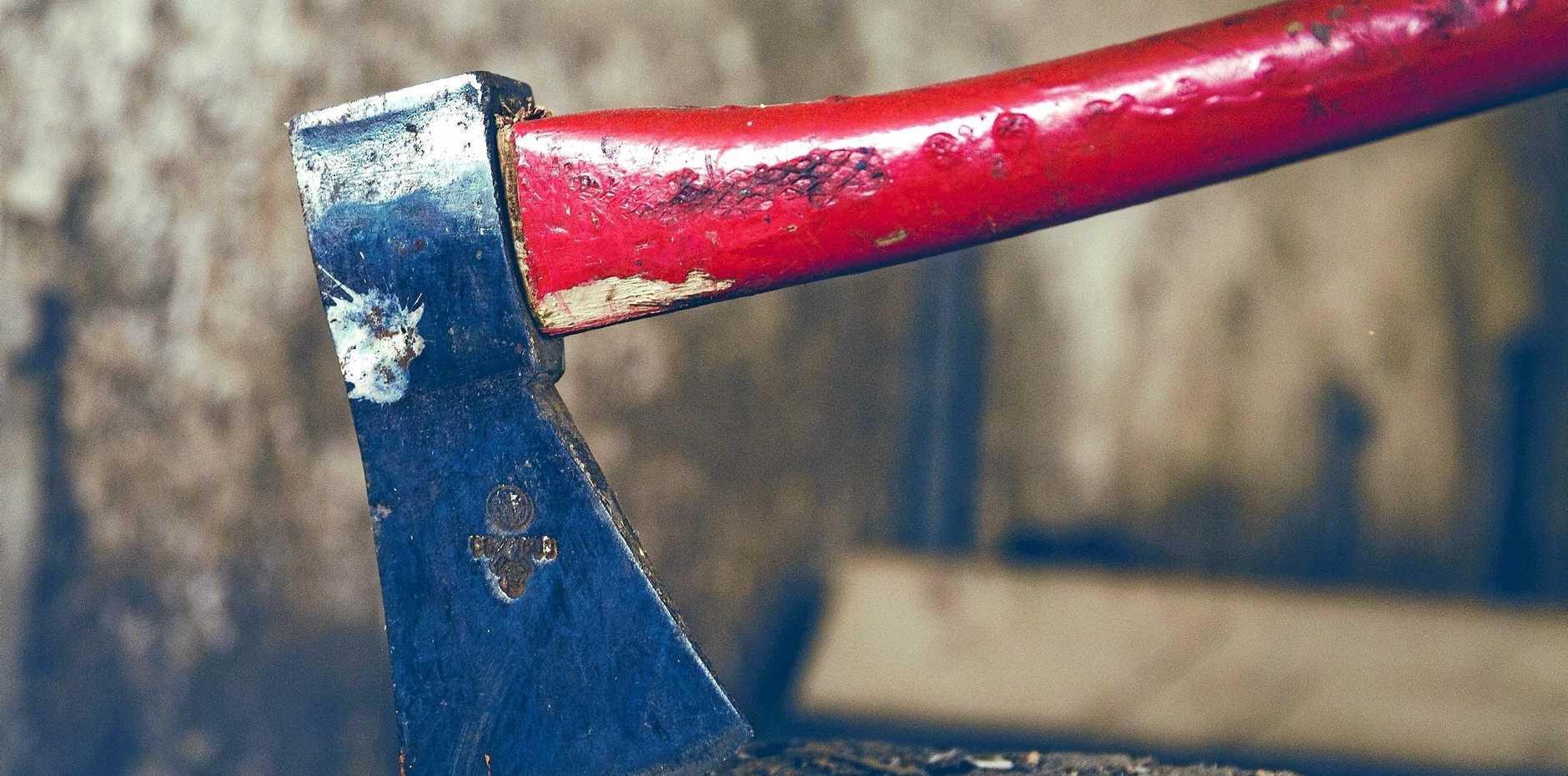 File photo of an axe.