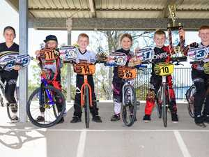 CLUB ON A ROLL: BMX club claims strong results