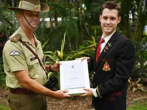 RGS cadet wins Australian army award