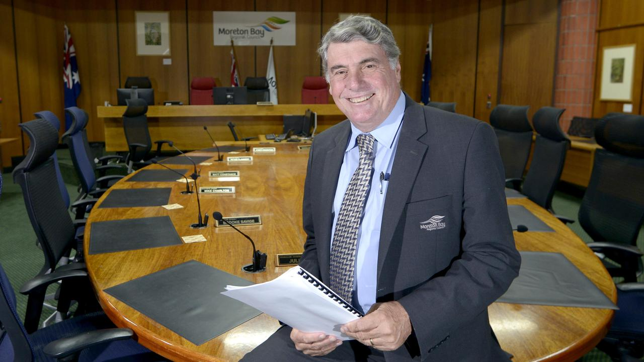 Moreton Bay Regional Council Mayor Alan Sutherland. Picture: Bradley Cooper