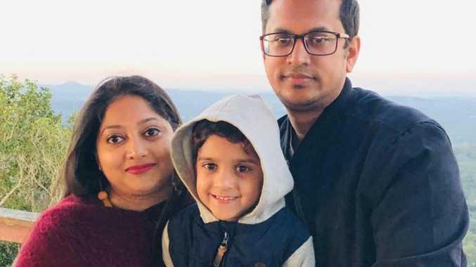 Australian dream shattered for young family