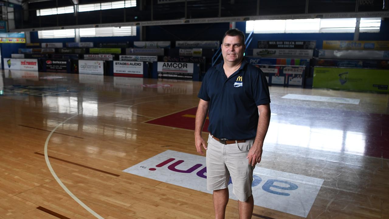 Wade Rebetzke, Rockhampton Basketball's new manager.