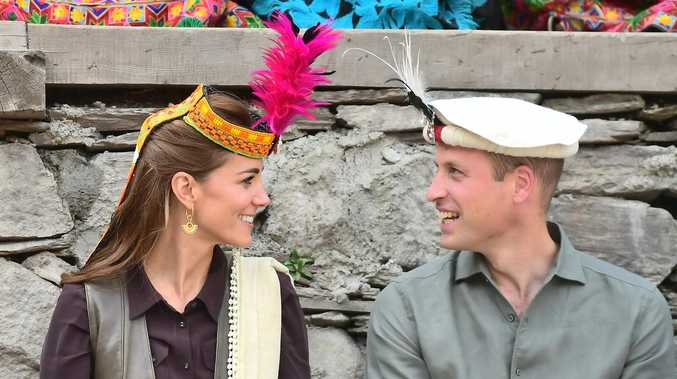 Kate and Wills dial up the cuteness on tour