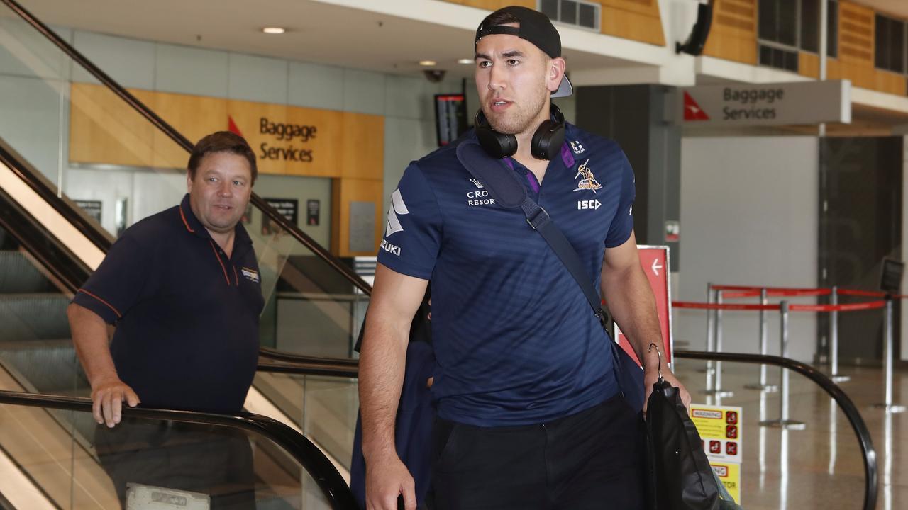 Melbourne Storm player Nelson Asofa-Solomona. Picture: Daniel Munoz/AAP Image