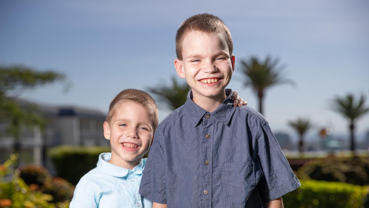 Jordan and Logan both suffer from an extremely rare genetic condition that means they can't absorb nutrients from food or drink.