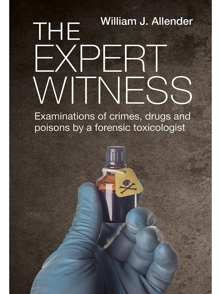 Dr William Allender's book is called The Expert Witness. Picture: Supplied