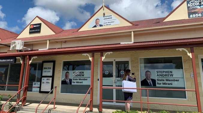 BACK IN ACTION: Mirani electorate office reopens after flood