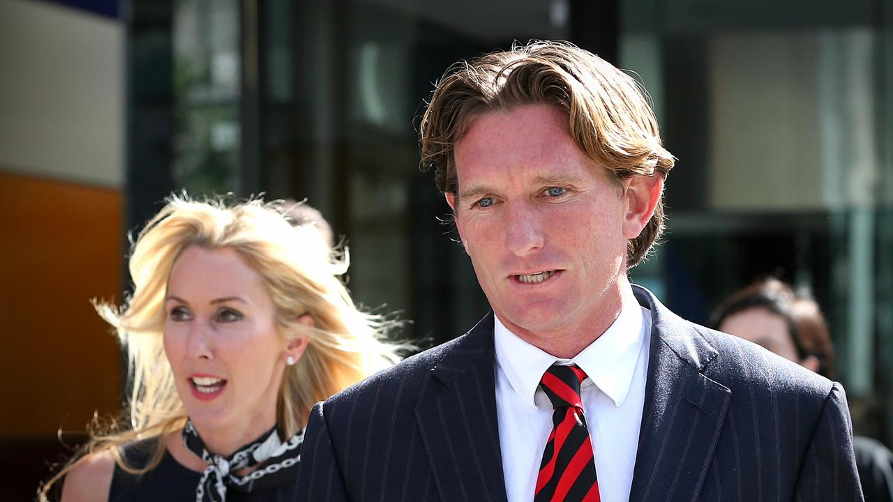 James and Tania Hird leave the Federal Court in 2014. Picture: Mark Stewart
