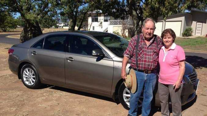 Brazen thieves steal car while owners sleep