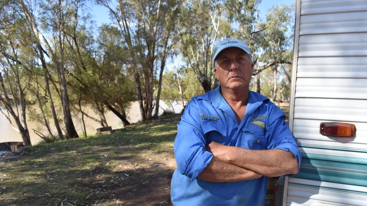 Rick Grinsell - owner of caravan park